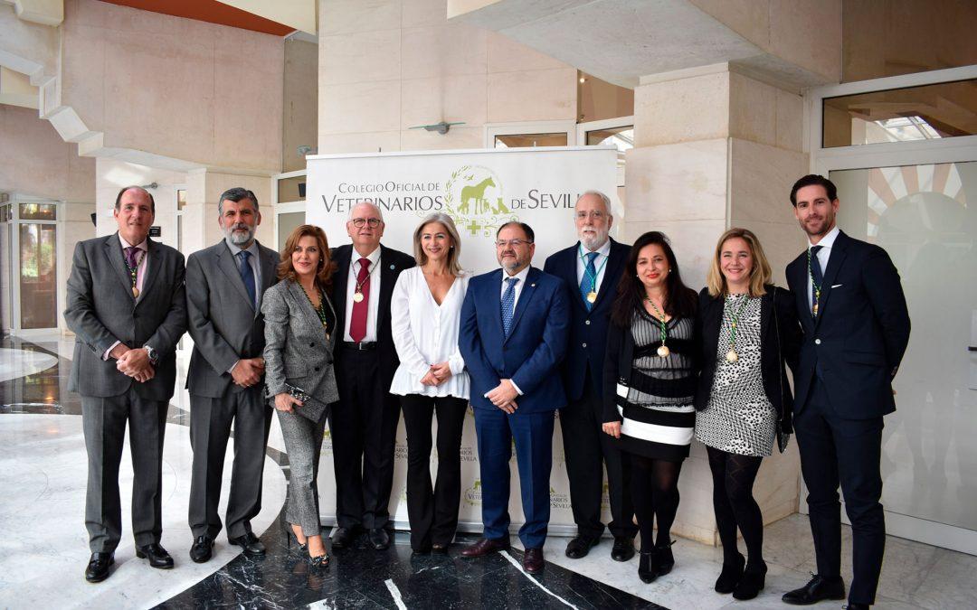 Acto de entrega de distinciones y admisión de nuevos colegiados del Colegio Oficial de Veterinarios de Sevilla