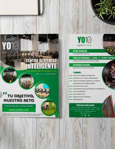 YO10 Sport Club Sevilla elementos publicitarios