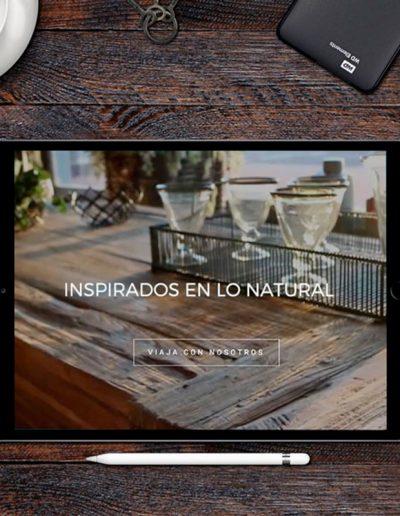 Vanadela web tienda de muebles