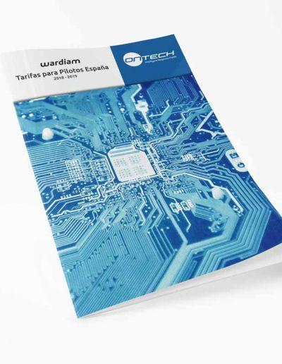 Dossier y catálogo para Ontech