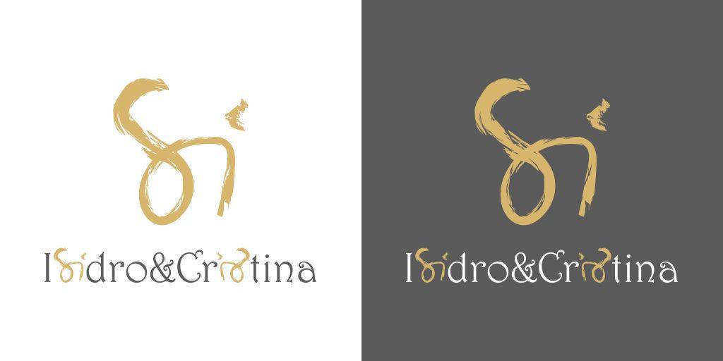 logo boda isidro y cristina