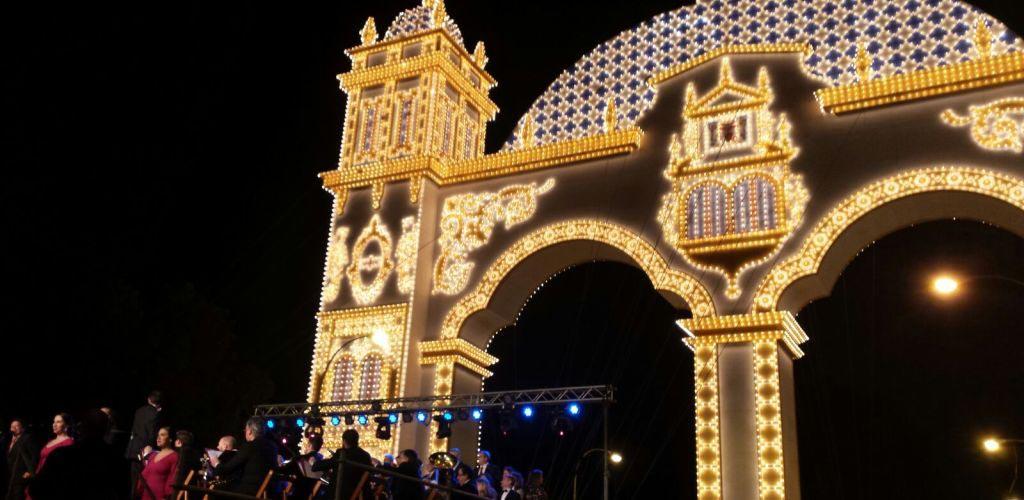 El Alumbrado de la Feria de Abril de Sevilla más especial para L'image Marketing