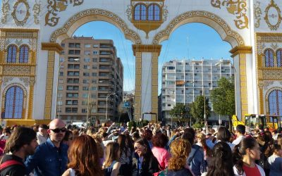 Marcha de castañuelas, el verdadero homenaje a la danza en esta Feria de Abril de Sevilla 2016