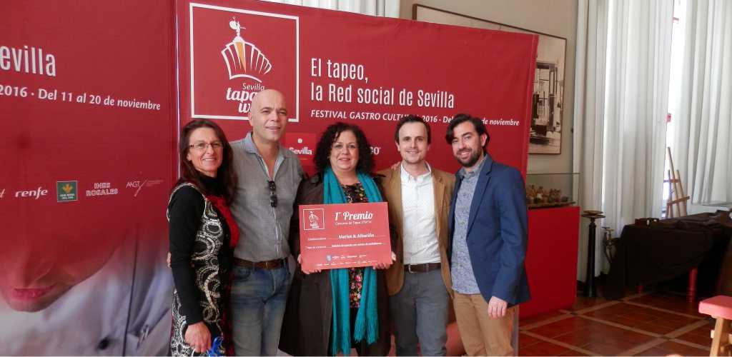 """Merlot&Albariño ganadores de la 5º edición de la """"Sevilla Tapas Week"""""""