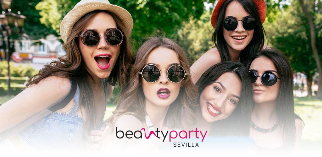 Diseñamos una nueva imagen corporativa para Beauty Party Sevilla
