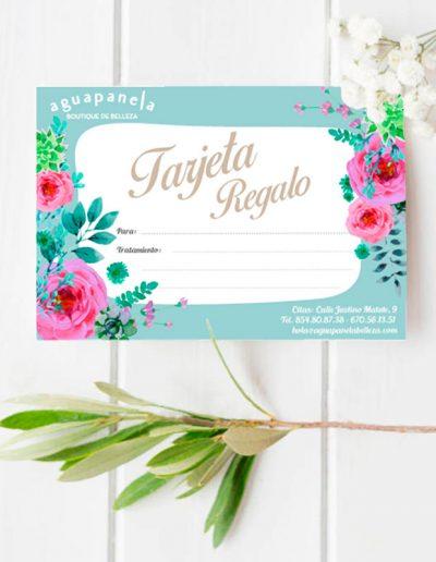 Aguapanela Belleza tarjeta regalo