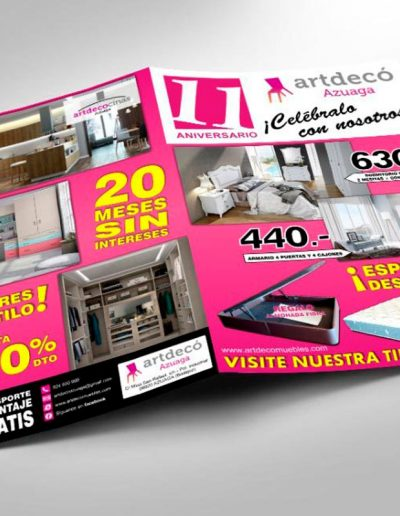 Artdecó Azuaga catálogo promocional de productos