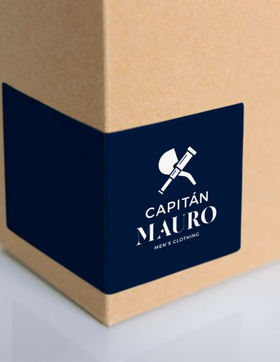Capitán Mauro packaging