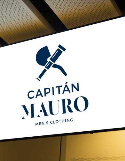 Capitán Mauro Rotulación