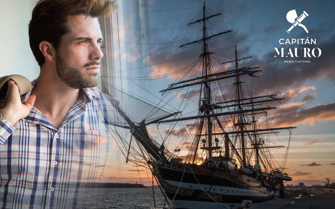 Capitán Mauro, un nuevo viaje a través de la moda que comienza en L'image Marketing