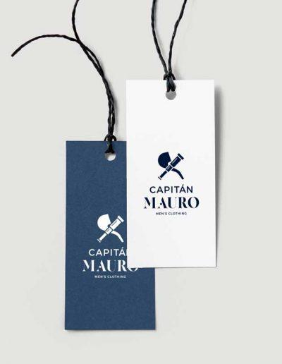 Etiquetas de ropa Capitán Mauro