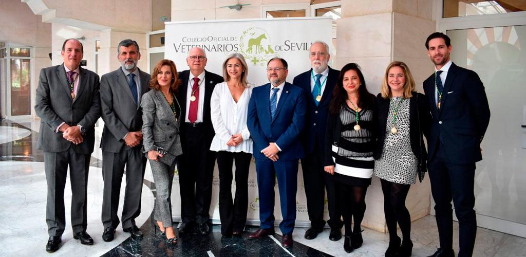 Evento premios y distinciones Colegio de Veterinarios de Sevilla
