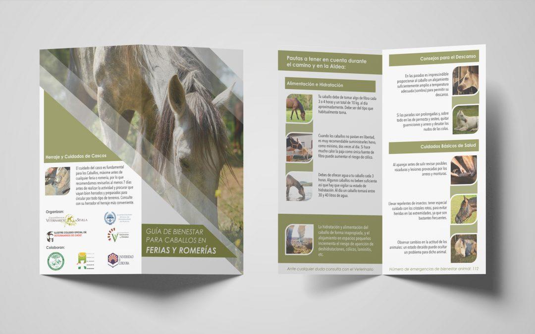 L'image Marketing diseña un díptico sobre Bienestar Animal para El Rocío 2019
