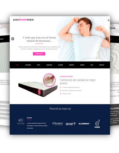 Diseño web colchonerías