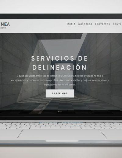Diseño web EDELINEA
