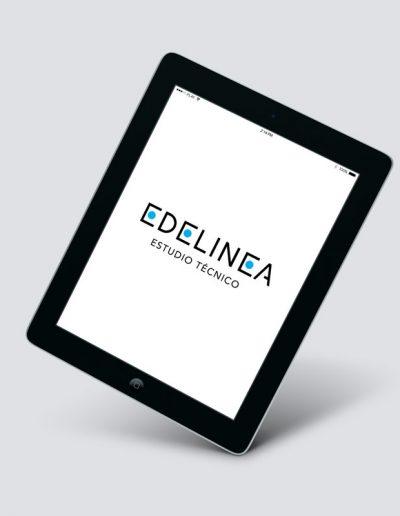 EDELINEA nuevo logotipo
