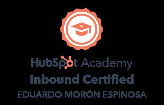 Inbound Certified Eduardo Morón