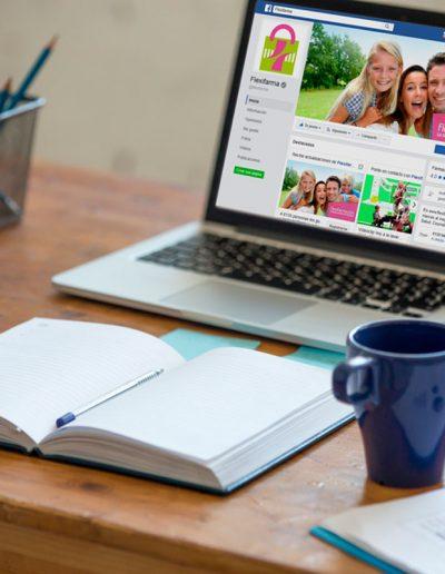 Gestión de Redes Sociales Flexifarma