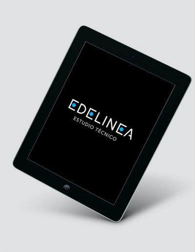 Logotipo EDELINEA