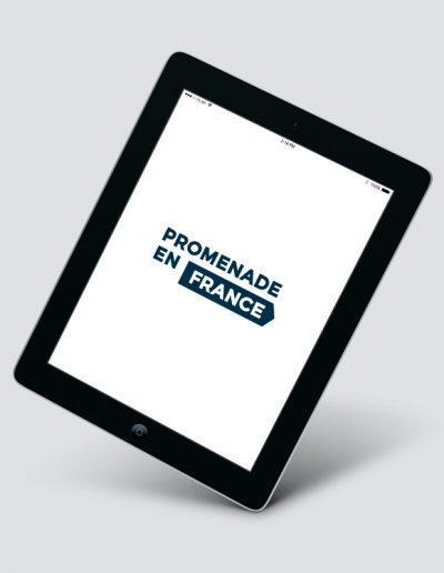 Promenade en France logotipo