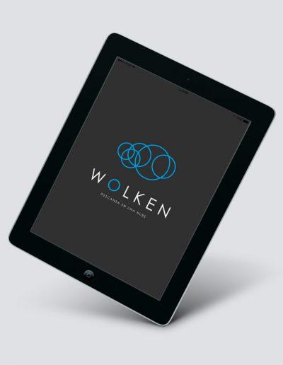 nuevo logotipo colchones wolken