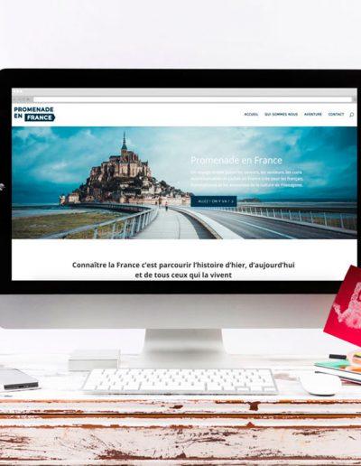 Web Promenade en France