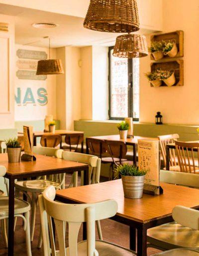 Decoración e interiorismo Restaurante Karpanta