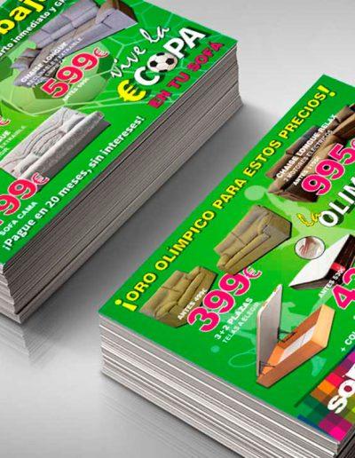 Diseño y campaña publicitaria para Sofas Home