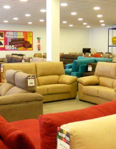 Tienda de sofás en Sevilla. Polígono El Manchón