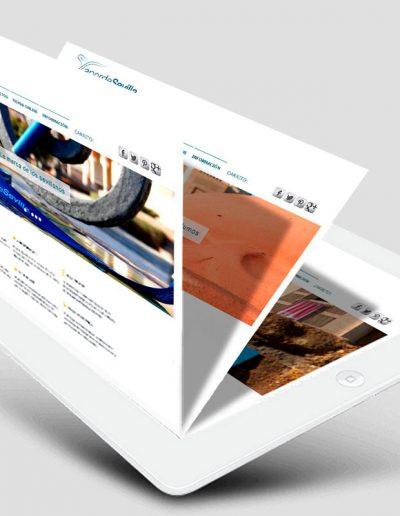 Diseño web, tienda online y blog para Vapor de Sevilla