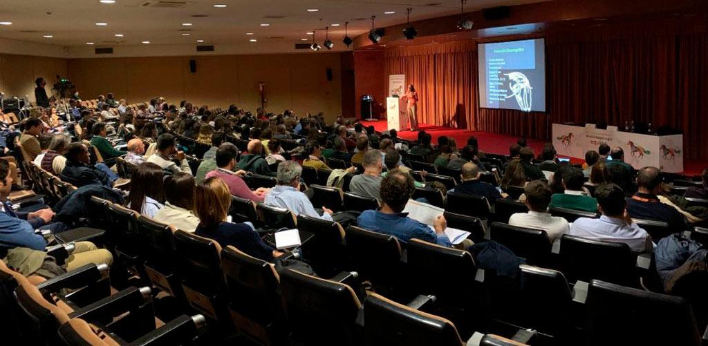 Grabación del XX Congreso Internacional de Medicina y Cirugía Equina